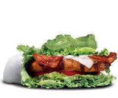 レタスラップチキン サンド